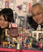 Мир миниатюр «Короля бумажных скульптур» Ота Такаши.