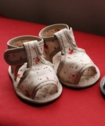 Текстильные сандали для малыша. Мастер - класс