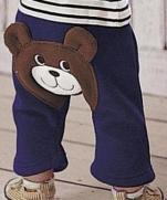 Забавные штанишки для малышей