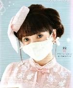 Маски и аксессуары для волос из последнего журнала Lolita Fashion Sewing BOOK 15