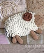 Спящий барашек - хранитель детской пижамки