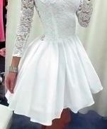 Алгоритм раскроя потрясающего кружевного платья