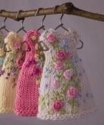 Вязания кофточка для куклы