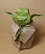 Оригами Мастер-джедай Йода из Звездных Войн