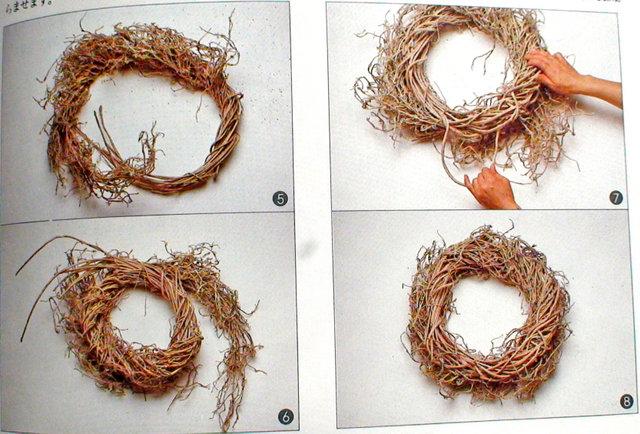 Венок из травы своими руками