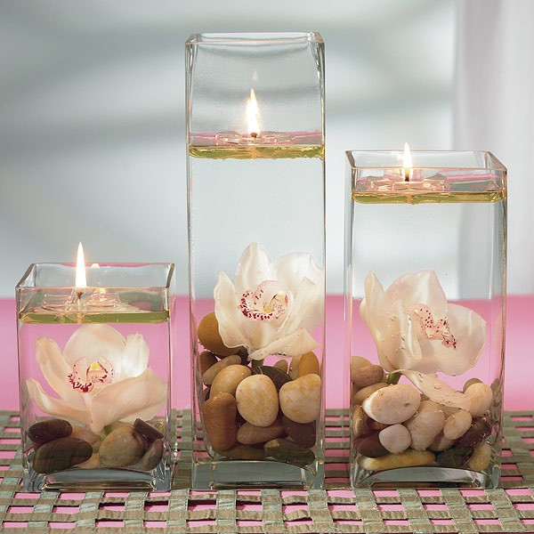 Свечи из геля своими руками