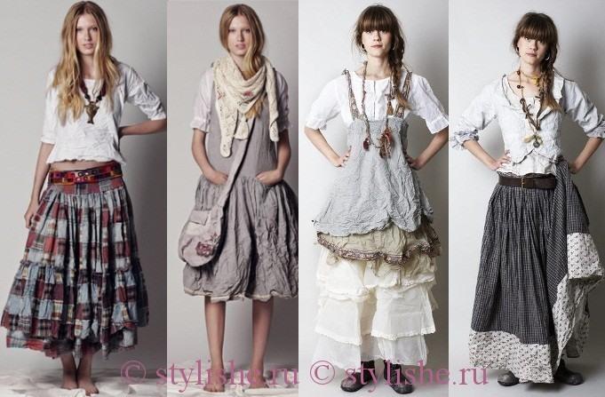 Стиль бохо в одежде модное веяние