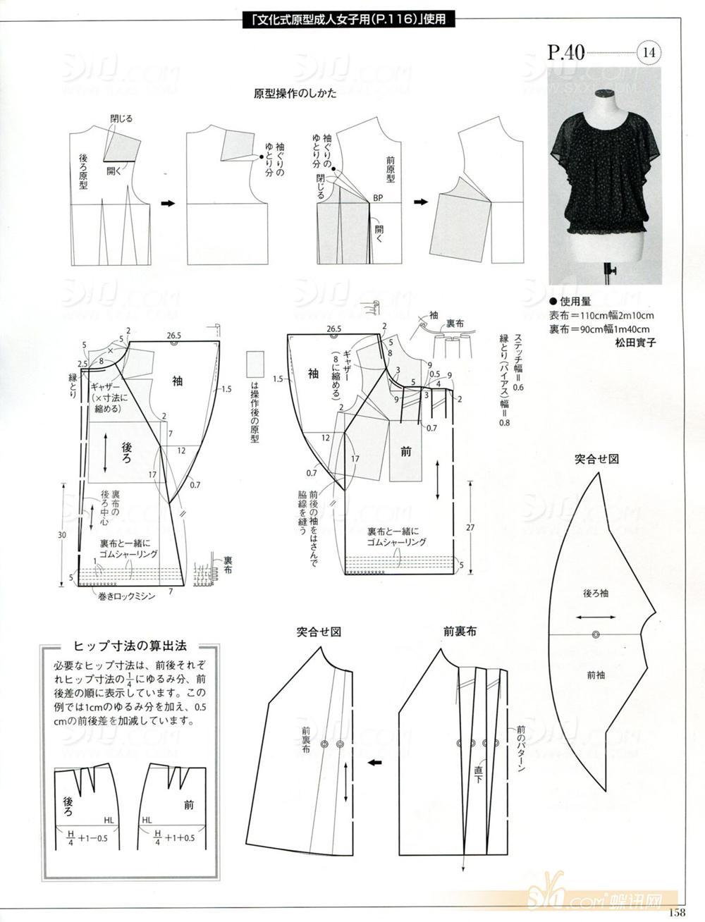 Чертежи Выкроек На Блузки Для Полных Дам 56 Размера Летних