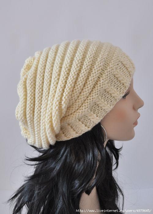 Вязание крючком шапка чулок