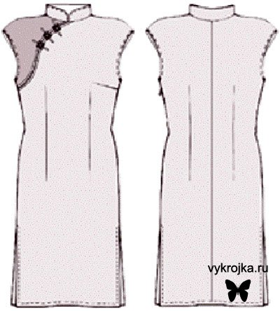 Кимоно выкройка вязаные болеро
